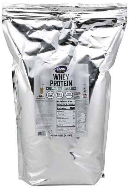 NOW SPORTS - WHEY PROTEIN - 10 LB - CHOCOLATE Код на продукт: NF2194