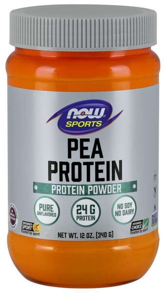 NOW SPORTS - PEA PROTEIN - 340 G Код на продукт: NF2132