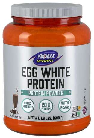 NOW SPORTS - EGGWHITE PROTEIN - 680 Г Код на продукт: NF2044