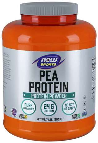 NOW - PEA PROTEIN НЕОВКУСЕН - 3178 Г Код на продукт: NF2124