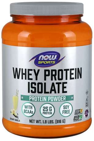 NOW SPORTS - WHEY PROTEIN ISOLATE - 816 Г Код на продукт: NF2160