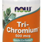 NOW - TRI-CHROMIUM 500 MCG + CINNAMON - 90 VCAPS Код на продукт: NF1428