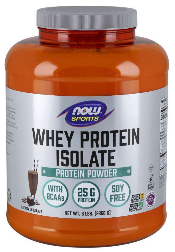 NOW SPORTS - WHEY PROTEIN ISOLATE - 2268 Г Код на продукт: NF2166