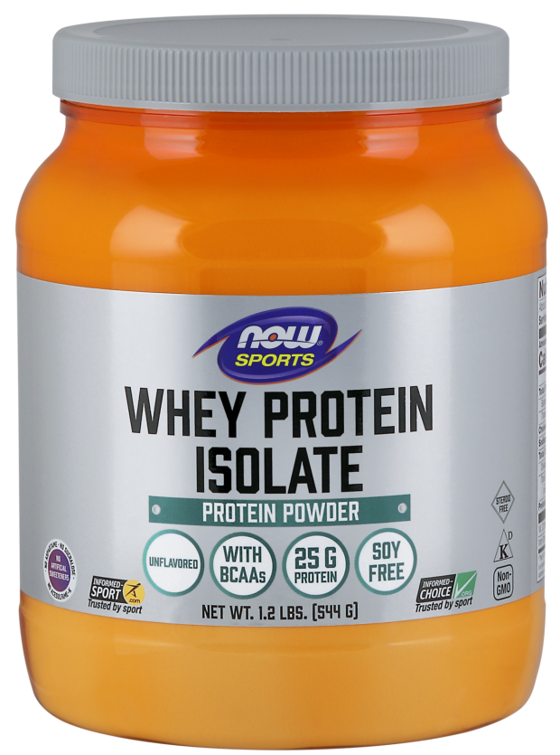 NOW SPORTS - WHEY PROTEIN ISOLATE - НЕОВКУСЕН - 544 Г Код на продукт: NF2172