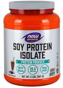NOW SPORTS - SOY PROTEIN ISOLATE - 908 Г Код на продукт: NF2143